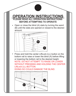 SafeTrac Blind Operations Tag