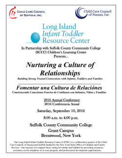 Nurturing a Culture of Relationships