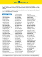 Lista de Clientes con con depósitos que no han tenido movimiento