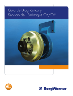 Guía de Diagnóstico y Servicio del Embrague On/Off