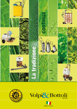 Catalog - VIBI SPRAYERS SRL