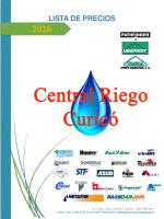 catálogo - Central Riego