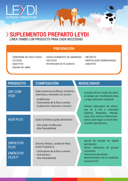 Descargar Folleto SUPLEMENTOS PREPARTO LEYDI