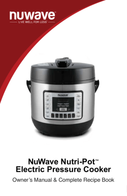 NuWave Nutri-Pot