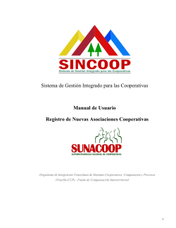 Registro - sincoop