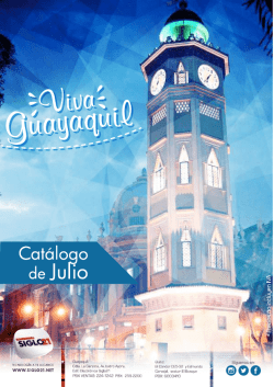 Catalogo SG21 JULIO 2016.