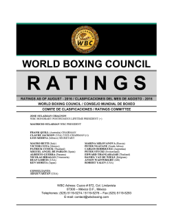 champion - World Boxing Council