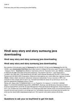 Hindi sexy story and story sumsung java downloading