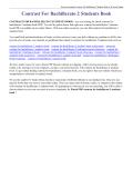 Contrast For Bachillerato 2 Students Book