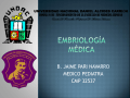 EMBRIOLOGIA CLASE 1
