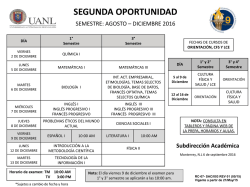 segunda oportunidad - Preparatoria No. 9