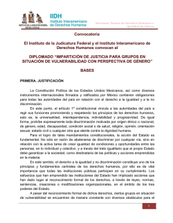 Convocatoria - Instituto de la Judicatura Federal