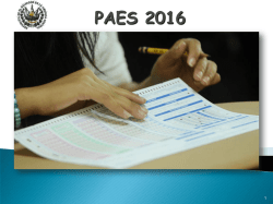 PAES 2016 - WordPress.com