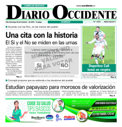 area legal - Diario Occidente