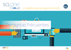 Preguntas frecuentes sobre SAP Business One Cloud