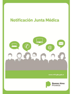 Manual Notificación Junta Médica
