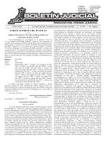 boletín judicial n° 190 del 04 de octubre del 2016