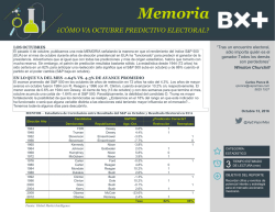 memoria20161013 - Blog Grupo Financiero BX+