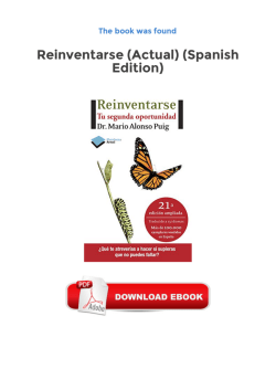 Reinventarse (Actual) (Spanish Edition) Free Pdf Books