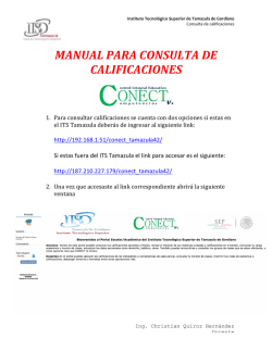 manual para consulta de calificaciones