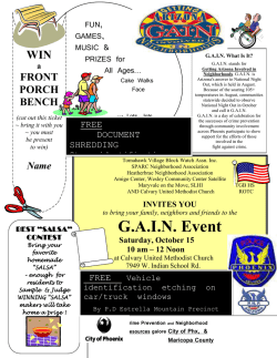 G.A.I.N. Event