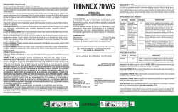 thinnex 70 wg