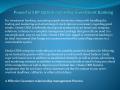 Powerful ERP Option regarding Investment Banking