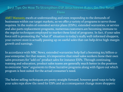 Best Tips On How To Strengthen ESP Attachment Rates On The Retail Floor