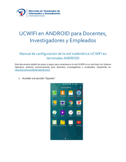 Manual UCWIFI para Android