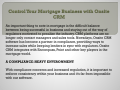 Control Your Mortgage Business with Onsite CRM