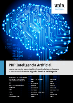 PDP Inteligencia Artificial