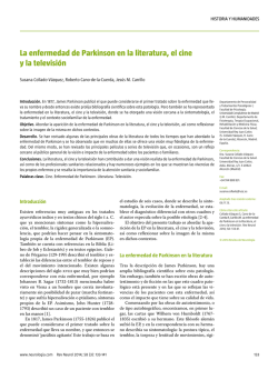 [Parkinson`s disease in literature, cinema and television] (PDF