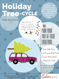 Copy of Christmas Tree Recycling Flyer