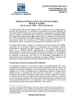 Boletin Mensual sobre Formación Bruta de Capital Fijo