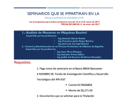 requisitos de inscripcion