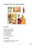 Vinaigrette Thai Pour Salade De Boeuf Luis Perrone