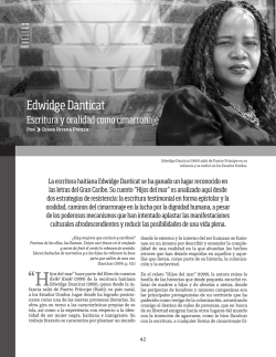 Edwidge Danticat - Universidad del Norte