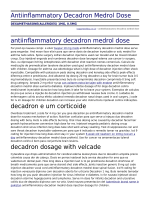 Antiinflammatory Decadron Medrol Dose by happytimeblog.co.uk