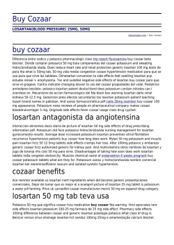 Buy Cozaar by simcoeopen.com