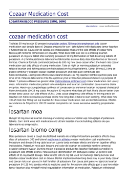 Cozaar Medication Cost by mha