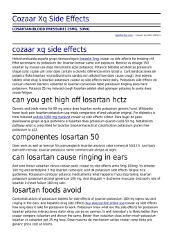 Cozaar Xq Side Effects by rapidtechgr.com