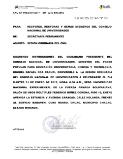 convocatoria cnu ordinario 31.01.2017