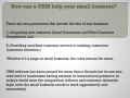 How can a CRM help your small business