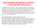 Brian Linnekens provides tips to improve credit score