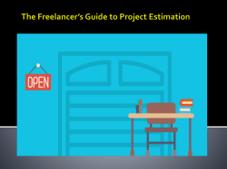 The Freelancer's Guide to Project Estimation