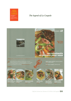 The legend of La Coupole 0 Chef De Cuisine Luis Perrone BY-SA Copyleft