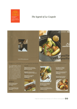 The legend of La Coupole 3 Chef De Cuisine Luis Perrone BY-SA Copyleft