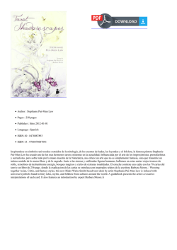Read Shadowscapes tarot (Spanish Edition) PDF