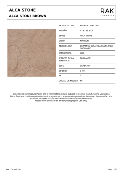alca stone brown