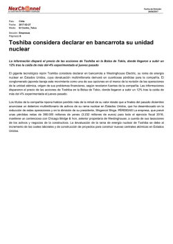 Nexchannel - Noticia PDF